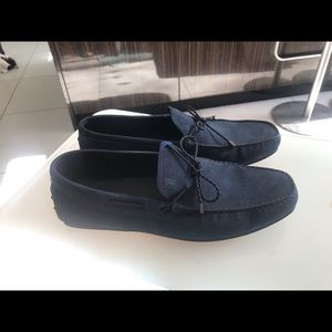 Tod's Shoes - Tod's navy blue driving shoes never worn